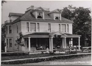 Mountain Lake Park, Maryland: Boarding houses
