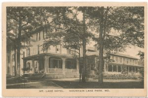 Mountain Lake Park, Maryland: Hotels