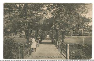Mountain Lake Park, Maryland: The Board Walk