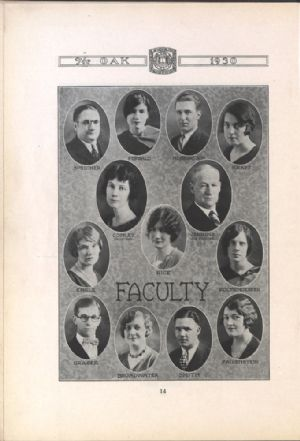 Photographs of the faculty