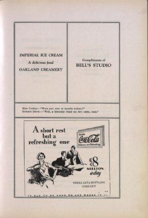 Oakland Creamery, Bell's Studio, Terra Alta Bottling Company