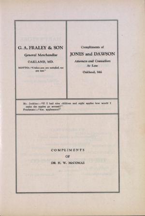 G. A. Fraley, Jones and Dawson, Dr. McComas