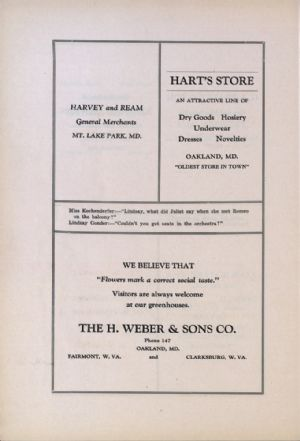 Harvey and Ream, Harts Store, H. Weber