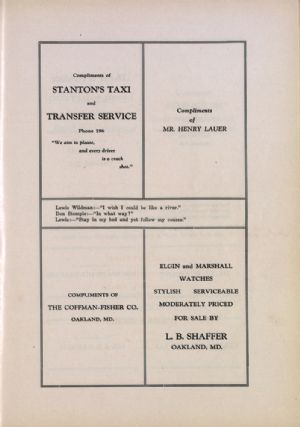 Stanton's taxi, Coffman-Fisher, Henry Lauer, L. B. Shaffer