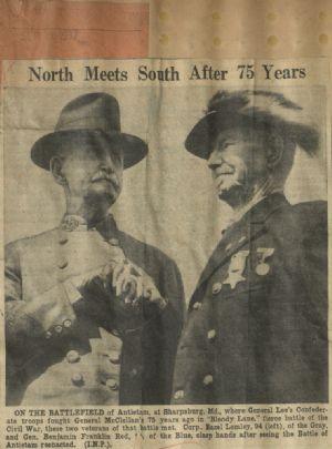 Antietam veterans, 1937