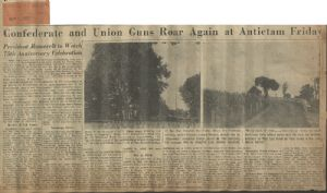 Richmond Times-Dispatch. Virginia troops at Antietam.