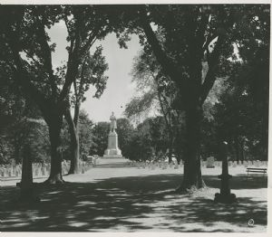 Antietam National Cemetery, 1937