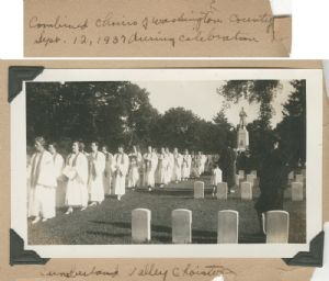Choirs at Antietam National Cemetery