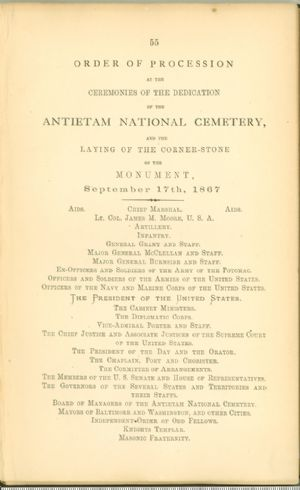 Union soldiers, Battle of Antietam.