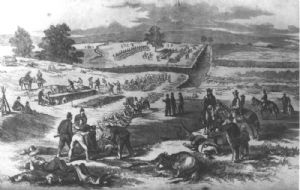 Burials after the Battle of Antietam.
