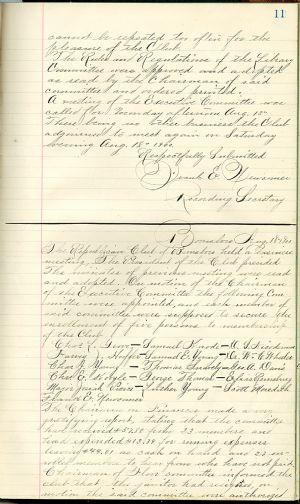 Boonsboro Republican Club, page 11