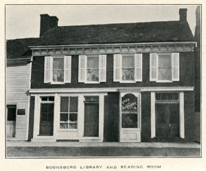 Boonsboro Free Library, 1907, 9 South Main.
