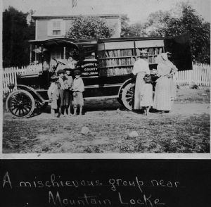 Mountain Locke: The bookmobile traveled throughout Washington County.