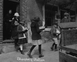 Sharpsburg - The library deposit stations in Washington County, Maryland
