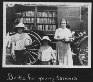 The bookmobile traveled throughout Washington County.