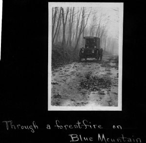 Blue Mountain. The library bookmobile visits homes throughout Washington County, Maryland