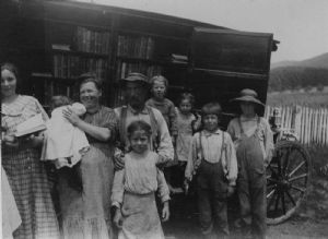 Sample's Manor. The library bookmobile visits homes in Washington County, Maryland