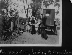 Broadfording. The bookmobile visits homes in Washington County, Maryland