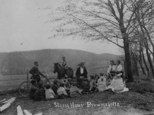 Brownsville. Deposit stations and libraries in Washington County, Maryland