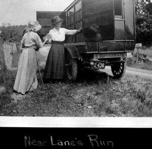 Lane's Run: The bookmobile traveled throughout Washington County.