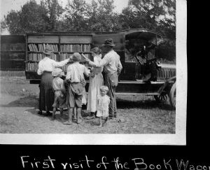 Bookmobiles through the years, Washington County Free Library