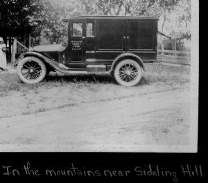 Sideling Hill. The library bookmobile visits homes in Washington County, Maryland