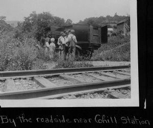 Cohill Station. The library bookmobile visits homes in Washington County, Maryland