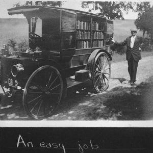 Bookmobiles through the years, Washington County Free Library.