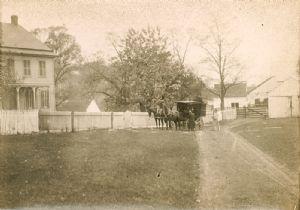 The first Book Wagon, Washington County Free Library, Washington County, Maryland.