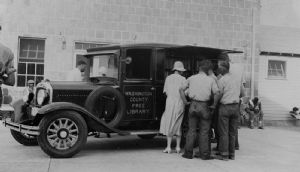Roxbury. The library bookmobile visits throughout Washington County, Maryland