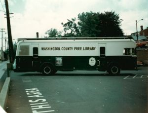 Bookmobiles through the years in Washington County, Maryland