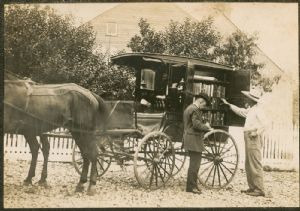 The first book wagon, Washington County Free Library, Washington County, Maryland