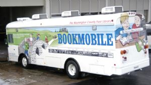 Bookmobiles through the years, Washington County, Maryland.