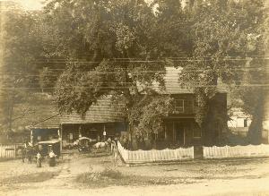 The first bookwagon, Washington County, Maryland.