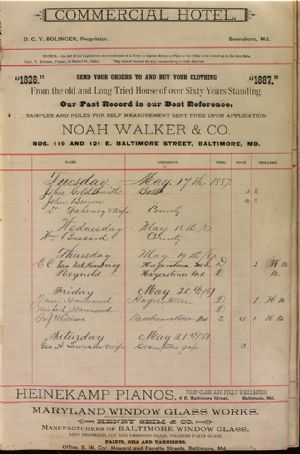 Page 1 of Register