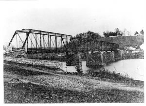 vehicle bridge at Shepherdstown