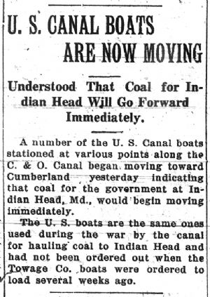 Coal from Cumberland