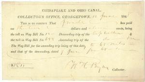 Way bill - 1848