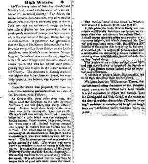 Flooding 1846