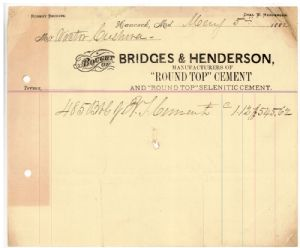 Bridges and Henderson