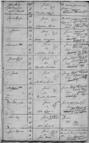 Criminal Writs Returnable to August Court 1778