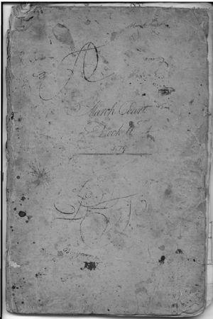 March Court Dockett 1779