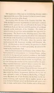 Preface - page 9. Burial Places of Confederate Soldiers.