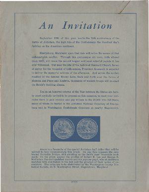 Letter sent to all Civil War veterans.