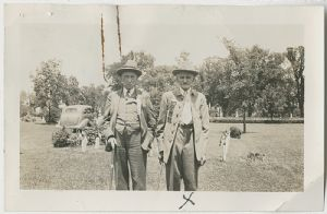 Dellinger, George and Daniel Miller, photograph