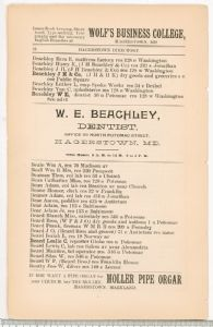 Hagerstown Directory 1893 -Page 16