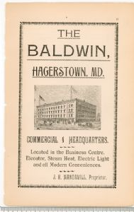 Hagerstown Directory 1893 -Page 17.