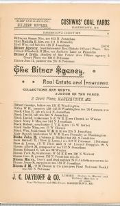 Hagerstown Directory 1893 -Page 21
