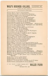 Hagerstown Directory 1893 -Page 26