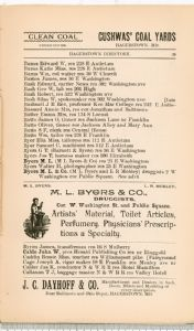 Hagerstown Directory 1893 -Page 29